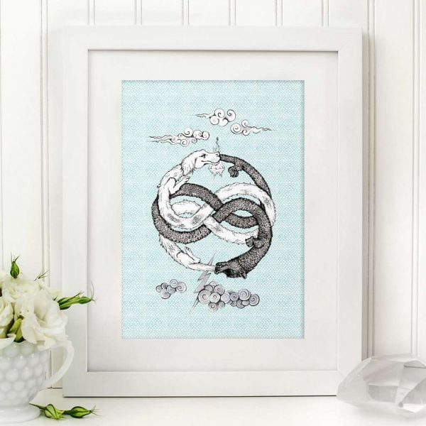 neverending story art print