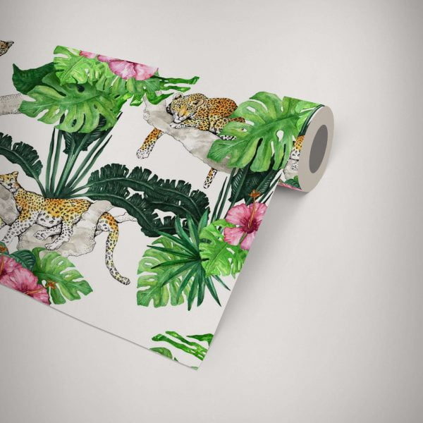 tropical jungle wallpaper