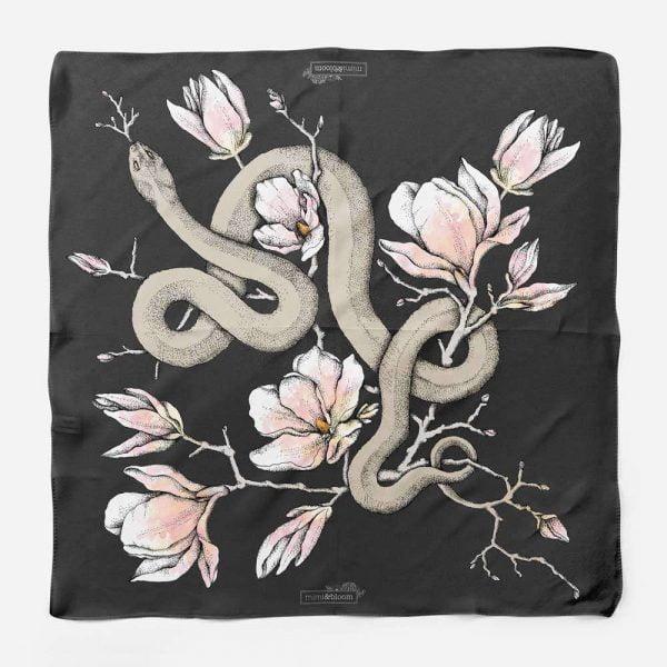 magnolia snake scarf