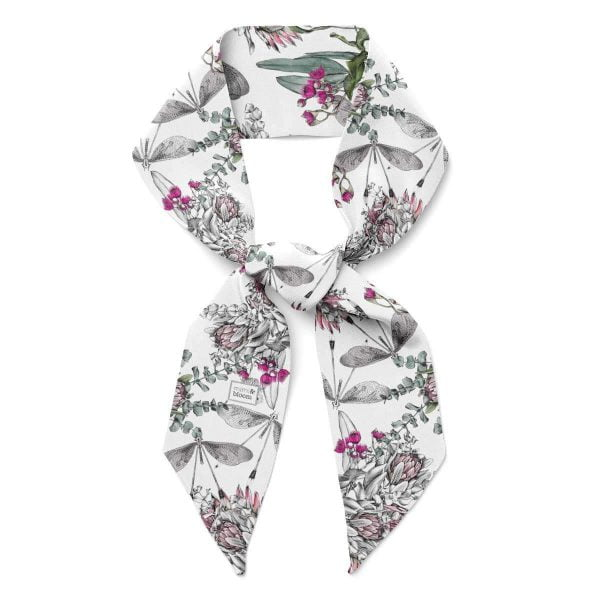 silk twilly scarf